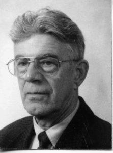 Der niederländische Überlebende Albert van Dijk im Jahr 2000. Foto: KZ-Gedenkstätte Mittelbau-Dora.