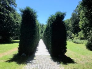 Das Naational Dachau Monument im Amsterdamse Bos. (Foto: Ellen Boszhard).