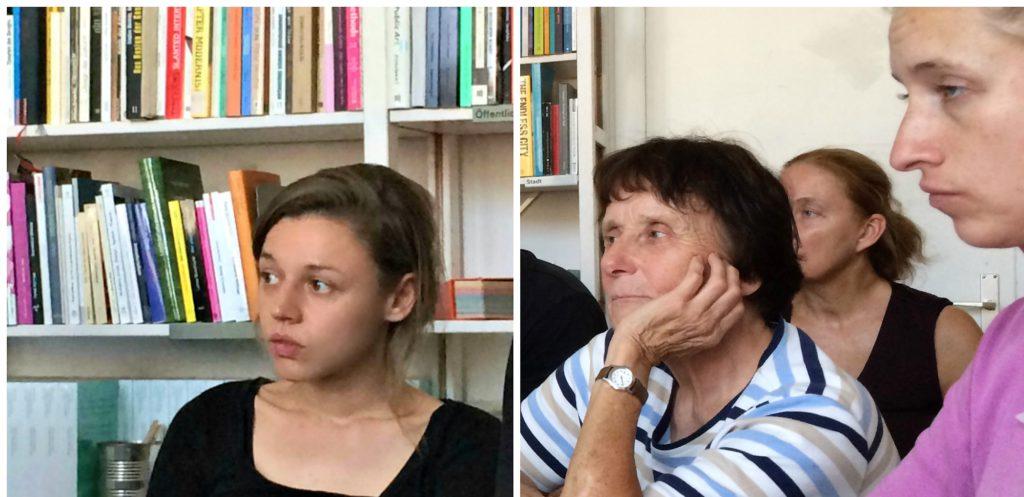 Le 20 juin 2018, des descendants de victimes des nazis expliquent aux étudiants l'importance de l'histoire familiale dans leur vie d'aujourd'hui. Photo : Tina Henkel
