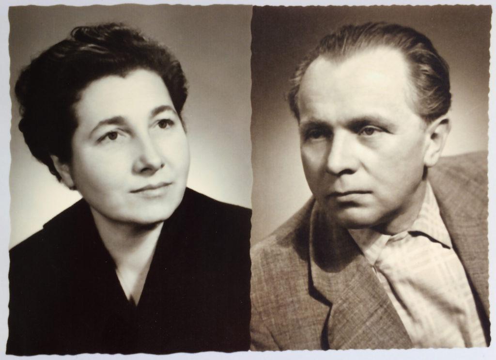 Portraitaufnahmen in S/W von Eva und Willi Neurath