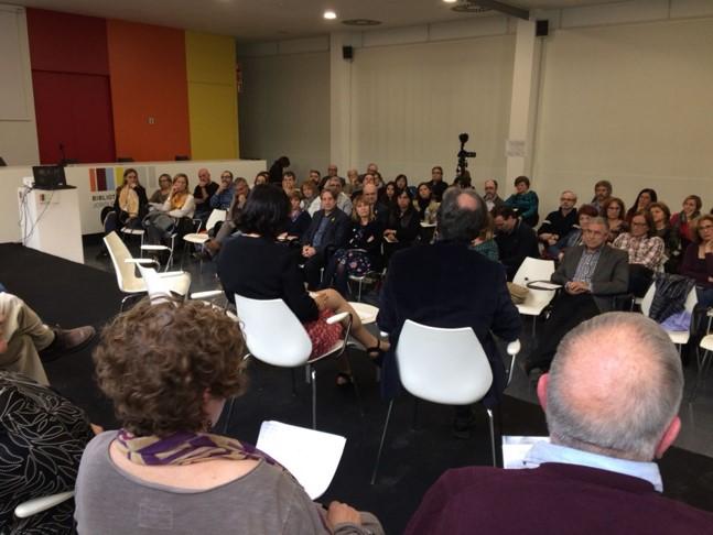 Participantes de la Audiencia Memorial en Sant Bio de Llobregat