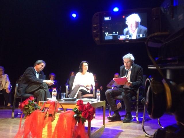 Panelistas de la Audiencia Memorial en Sant Joan de Vilatorrada